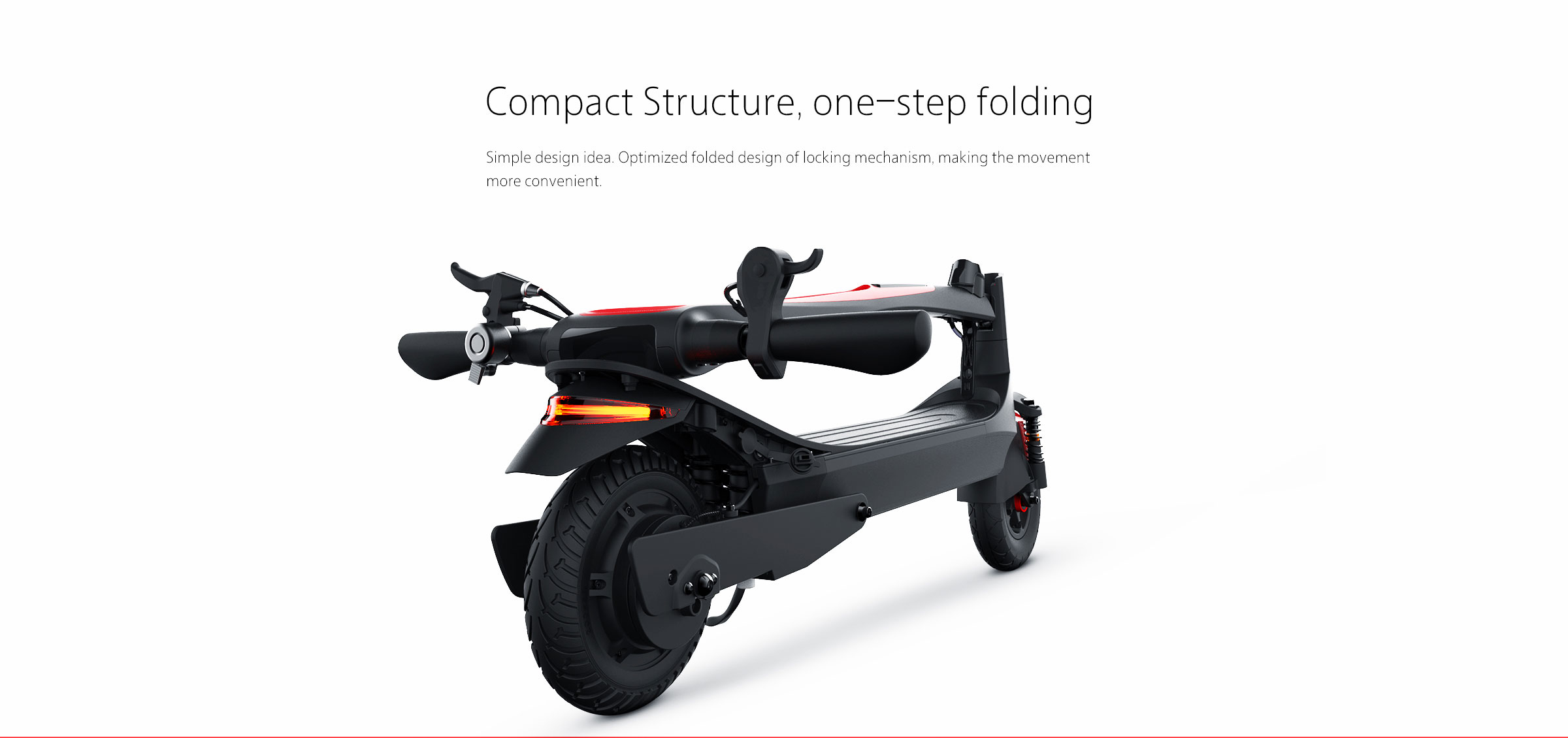 compact structure,one-step folding