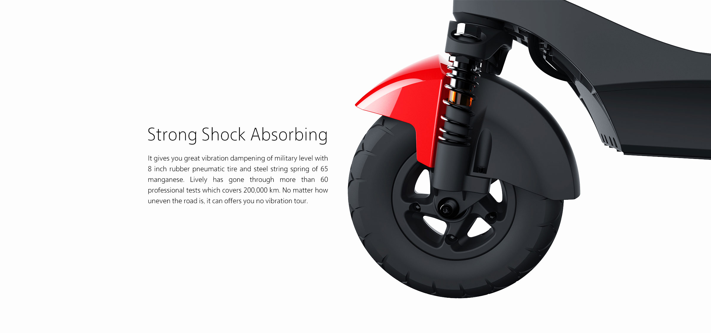 strong shock absorbing
